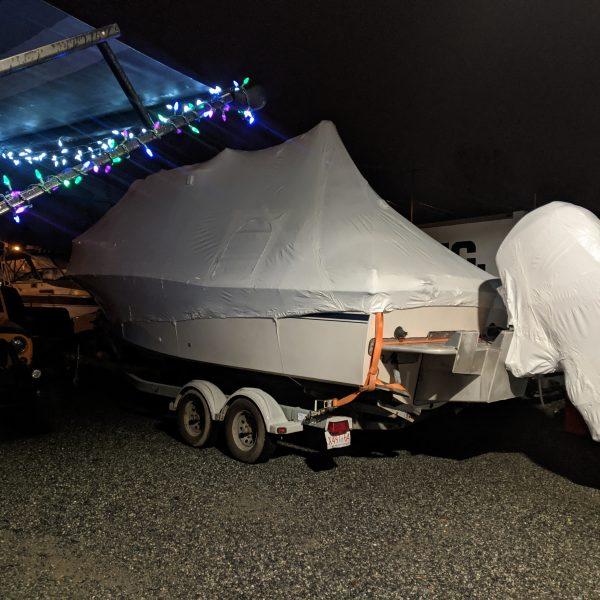 boat shrink wrap cowichan